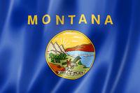 Montana flag, USA