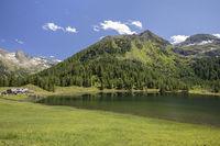 Der Duisizkarsee in der Steiermark, Österreich