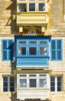 Traditional maltese balcony