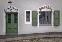 Ein Lebensmittelgeschäft in Freiberg