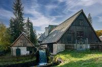 Frohnauer Hammer - historische Schmiede in Annaberg-Buchholz, Erzgebirge