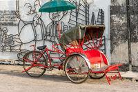 Rikscha in George Town