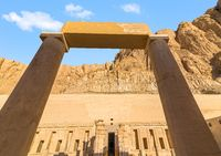 Arch in Hatshepsut temple