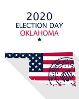 2020 Oklahoma vote card
