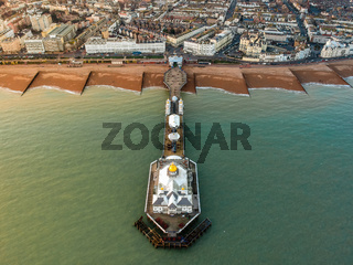 Eastbourne Pier, United Kingdom - Aerial Photograph