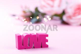 Valentine's Day romantic card