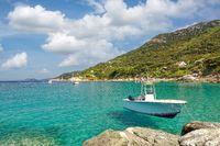 Kuestenlandschaft auf der Insel Elba,Toskana,Mittelmer,Italien