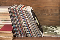 Collection of the vinyl albums