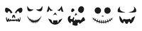 Halloween Faces White Header