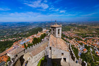 Castle of San Marino - Italy