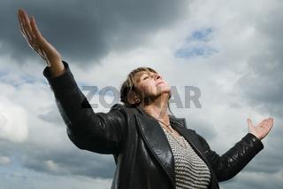 Gebet himmelwärts