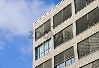 Architekturdetail eines Bürogebäudes