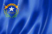 Nevada flag, USA