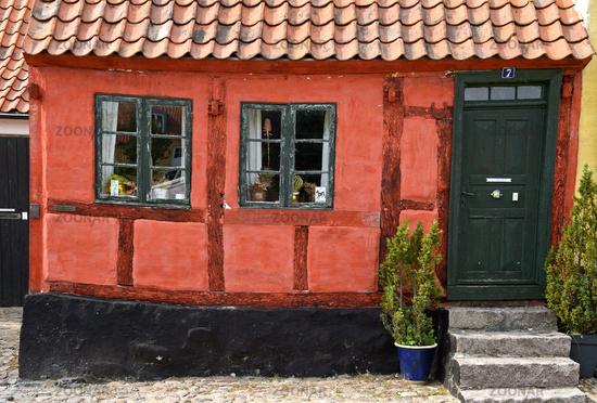 Malerisches Haus in Nysted, Dänemark