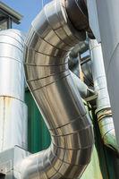 Gebäude einers Biomassen Kraftwerks
