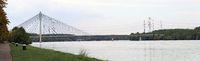 Rosenbrücke, eine Schrägseilbrücke