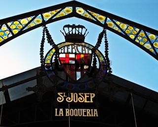 La Boqueria Barcelona Markt