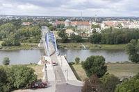 pedestrian and cyclist bridge Sternbrücke