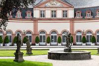 Schlosshof im Schloss Weilburg