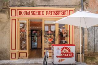 Bakery in the village of Gordes