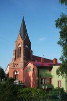 Kirche in Neuwarp, Westpommern
