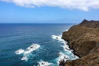 Im Norden von La Gomera - Steilküste Punta San Lorenzo bei Hermigua