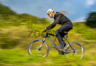 Aktivsportler mit dem Rad