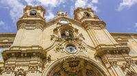 Basilica in San Sebastian, Basque Country, Spain