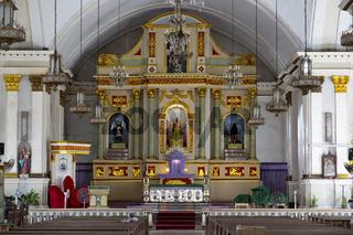 Altar in a Church in Tagbilaran on Bohol Island