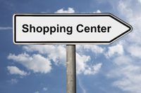 Wegweiser Shopping Center | signpost Shopping Center
