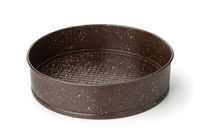 Round metal baking pan