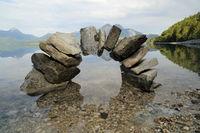 steinener Bogen im See