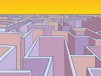 maze puzzle unknown route