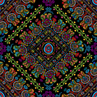 Hungarian embroidery pattern 35