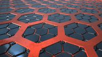 SciFi Futuristick Hexagon Background