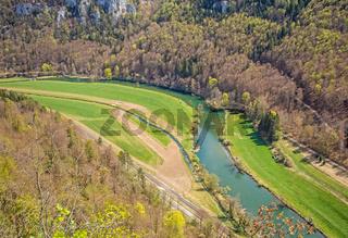 Donautal bei Beuron, Landkreis Sigamringen