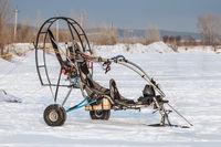 Powered paraglider