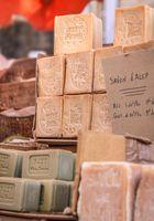 Rustic soaps in the village of Gordes