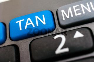 Online Banking, Optical chipTAN Generator