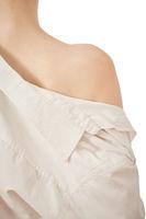 bare female shoulder
