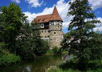 Zollernschloss in Balingen im Zollernalbkreis, Baden Württemberg, Deutschland