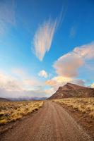 Road in Patagonia