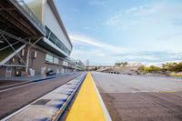 Singapore Grand Prix Circuit As Public Streets