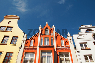 Altbau Wismar Deutschland / Old Apartment Building Wismar Germany