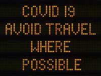 Coronavirus Traffic Sign