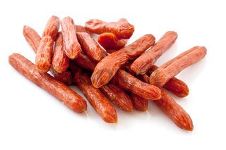 a lot of Snack Salami