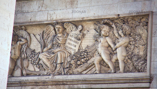 Battles of the French Republic memorial plaque