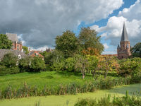 Die alte Hansestadt Zutphen in den Niederlanden