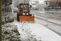 Winterarbeiten des Bauhof