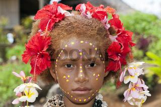 Maedchen von Kofure, Papua Neuguinea